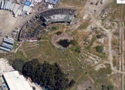 Current image of the roundhouse courtesy Google Maps.