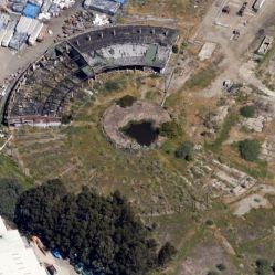 Caltrain150 rise and fall of the bayshore roundhouse peninsula current image of the roundhouse courtesy google maps malvernweather Images