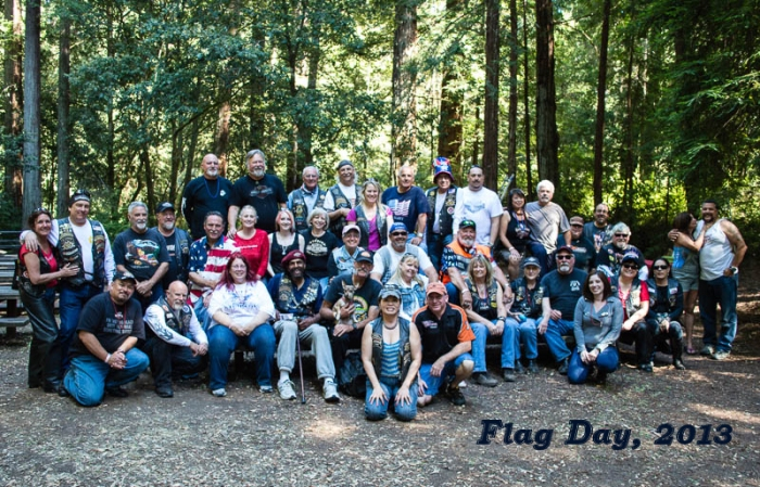 Henry Silvas and the HOG Harley riders regularly ride for charity, including the Good Samaritan House in San Mateo and the Veterans Affairs Medical Center in Menlo Park.