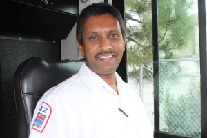 2014 Operator of the Year Harish Reddy.