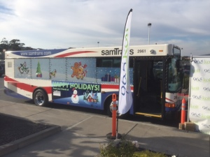 SamTrans Stuff a Bus
