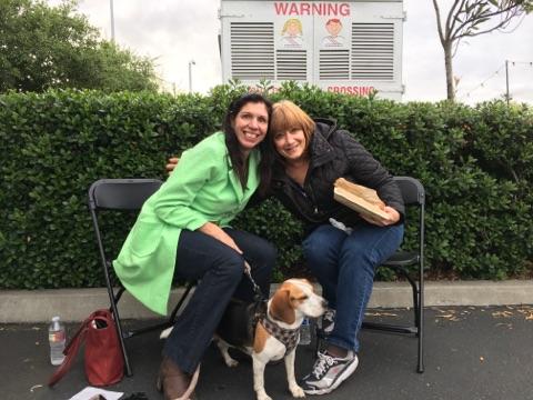 Aline-Wendy & Dog Sam