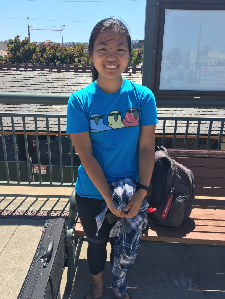 Susan Humans of Caltrain